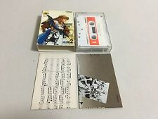 Namco Video Game Graffiti Volume 2 cassette Dragon Spirit Blazer Wonder Momo