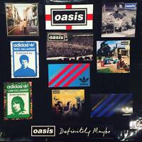 22 x Oasis Vinyl Stickers - Live Forever Adidas Manchester GTR MRN City United
