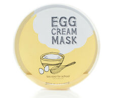 TooCoolForSchool Egg Cream Sheet Mask - FREE Shipping, From, CA, USA