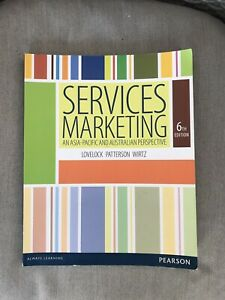 Services Marketing, 6th Edition, Lovelock, Patterson, Wirtz, Pearson Book