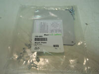 New Altech Corp Electrical Enclosure Internal Mounting Plate, 110mm Sq. 195-005