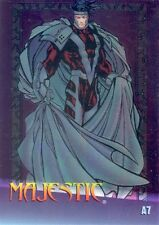 MARVEL VS WILDSTORM 1997 FLEER CLEARCHROME INSERT CARD A7 MAJESTIC MA