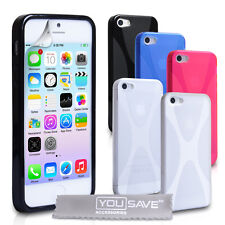 Accessories For The Apple iPhone 5/5S Soft Silicone Gel X-Line Case Cover UK