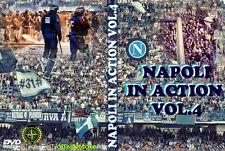 DVD ULTRAS NAPOLI IN ACTION  VOLUME 4 (PARTENOPEI,#31#,CURVA A,MASTIFFS,CURVA B)