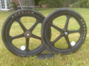 skyway mag wheelset black old school