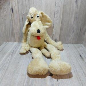 Vintage Rare Floppy Long Dog Pup Plush Shelf Sitter