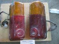 HINO CONTESSA 1300 Tail Light LH Side + RH Side lens + Base Used