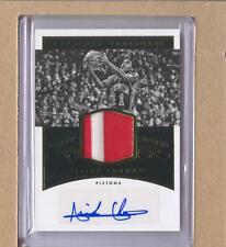 Isiah Thomas NM-IT 2014-15 National Treasures Night Moves Patch Auto 06/25