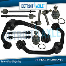 New 10pc Complete Front Suspension Kit - 2WD ONLY w/Coil Spring Suspension