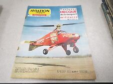 AVIATION MAGAZINE N° 393 1964 Toulouse Lear Jet Vertigyro Rolls-Royce Medway *