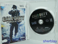 Call of Duty: World at War (Nintendo Wii, 2008) Complete
