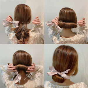 Girl Sweet Magic Bun Maker Women Wild Hair Tie Hair Accessory Hairband Hairstyle