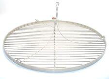 55 cm Grillrost Edelstahl + Seilaufhängung rund Grill Rost Günstig ähnlich V2a