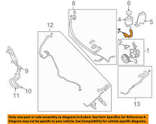 NISSAN OEM-Power Steering Suction Hose 497177S000