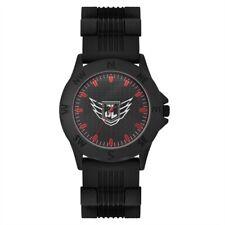 Avon Para Hombres Reloj De Liga De La Justicia // Dc Comics Superhéroe Batman Negro (RRP £ 35)
