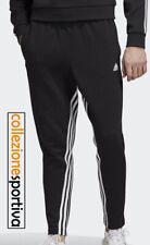 PANTALONE UOMO ADIDAS MUST HAVE 3 STRIPES SWEAT PANTS - DX7651 col. nero/bianco