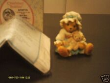Cherished Teddies _ Bye Bye Bunting girl with white bonnet 2001