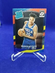 Markelle Fultz 2017-18 Donruss Optic Red Yellow Rated Rookie Card #200