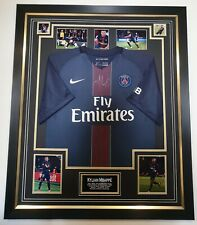 Kylian Mbappe Signed Shirt Autographed Jersey Display AFTAL Dealer Certificate