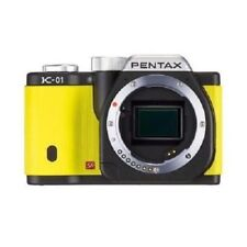 USED Pentax K-01 Mirrorless Yellow Body Excellent FREE SHIPPING