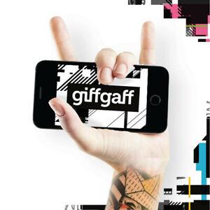 UK PAYG GIFFGAFF Triple SIM (Standard + Micro + Nano) + Free Postage 002