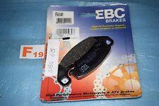 2 plaquettes de frein EBC Kawasaki GPX GPZ 250 400 R KR1 250 ZEPHYR 550 750