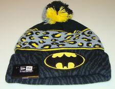 Batman DC Comics Cap Hat New Era Beanie Toque Polar Print Spots Dots Action Hero
