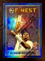 1995-96 Topps Finest Alonzo Mourning Refractor #247