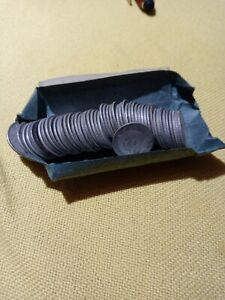 Canadian Silver Dimes Roll
