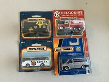 Matchbox Superfast Lot of 4 On English Blister