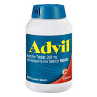 Advil Ibuprofen 200 mg., Pain Reliever/Fever Reducer - 360 Tablets