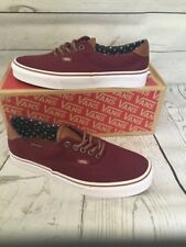 Vans Era 59 (T&L) Windsor Wine Twill Mens 11.5