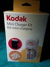 Kodak Mini NiMH AA Battery Charger Kit, Cleaning Cloth, Neoprene Camera Case