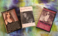 3 Cassette Tapes JUICE NEWTON Emotion 1987, Old Flame 1985  & Take Heart 1979
