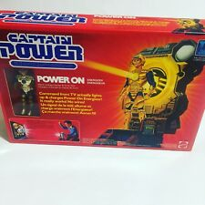 Captain Power On Mattel 1986 Vintage