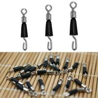 30x Quick Change Fishing Swivels Clips Pin Fast Link 14/15/16.5mm Line L1I6