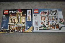 LEGO CREATOR 10232 PALACE CINEMA & 10218 PET SHOP MODULAR CITY NEW SEALED BOXES