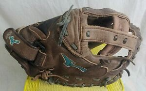 "Mizuno Pro Series FastPitch Softball Catcher's Mitt Glove 34"" Very good shape"