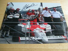 2009 Helio Castroneves Victory Lane Signed 8x10 Photo