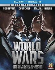 The World Wars [Blu-ray + Digital HD] New DVD! Ships Fast!