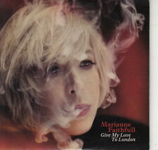 CD ALBUM PROMO MARIANNE FAITHFULL / GIVE MY LOVE TO LONDON