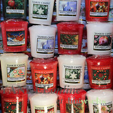 Yankee Candle Christmas Votive Samplers X 10  Mixed