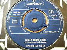"APHRODITE'S CHILD - SUCH A FUNNY NIGHT 7"" VINYL"