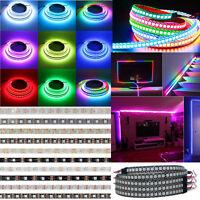 WS2812B 5050 RGB 5V 144LED/M LED Strip Lights WS2812 IC Individual Addressable