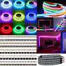 WS2812B LED Strip 30/60/144 LEDs/M 5050 RGB WS2812 IC Individual Addressable 5V