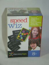 B9 Discovery Toys Speed Wiz Card Game Brand New Sealed 2010