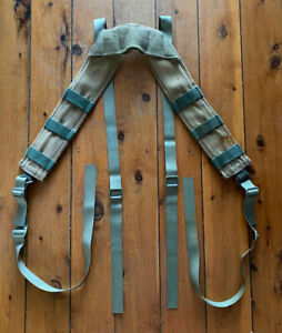 Australian Army Khaki Suspenders For M88 DPCU Webbing Surplus Issue