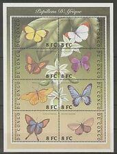 Briefmarken mit Tier-Motiven aus Kongo