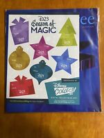 Disney Soul D23 Magazine Winter 2020 Seasons Of Magic With Gift Stickers IN HAND