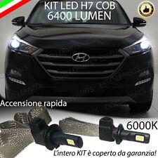 KIT H7 LED CANBUS ANABBAGLIANTE HYUNDAI TUCSON 6400 LUMEN + SUPPORTO LAMPADE